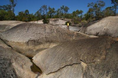 Fiona à Granite Gorge