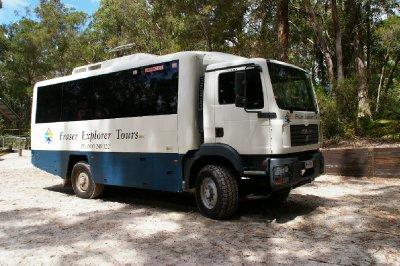 Notre bus pour la journée