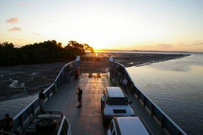 Sur le ferry pour rentrer