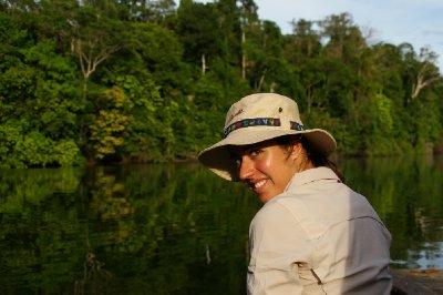 Fiona l'aventurière sur le lac Salvadore