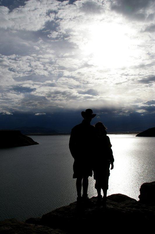 Au bord de la Laguna Umayo
