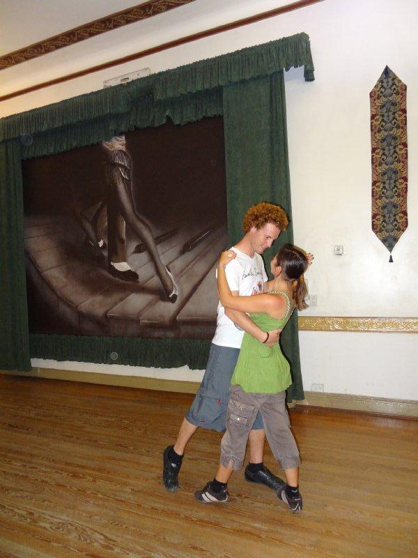 Leçon de Tango