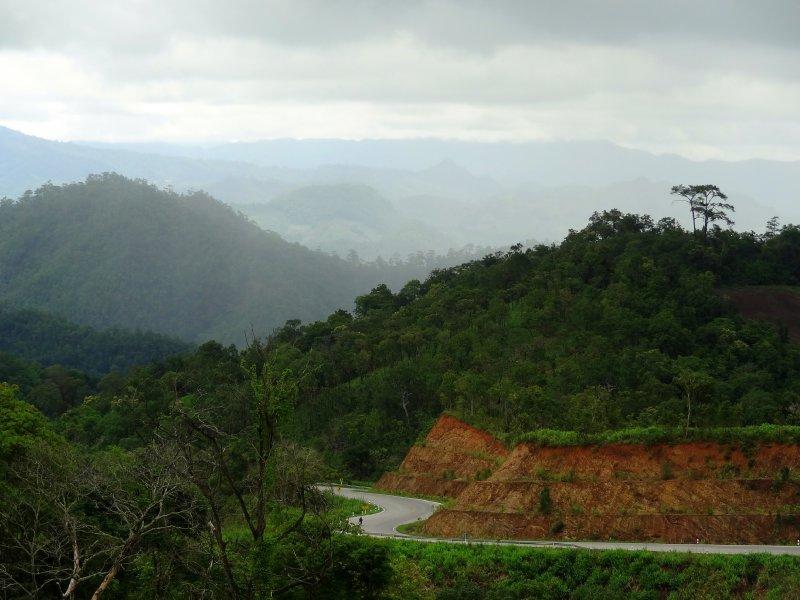Route entre Pai et Mae Hong Son