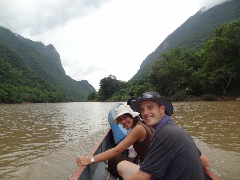 Prêt pour faire du Kayak