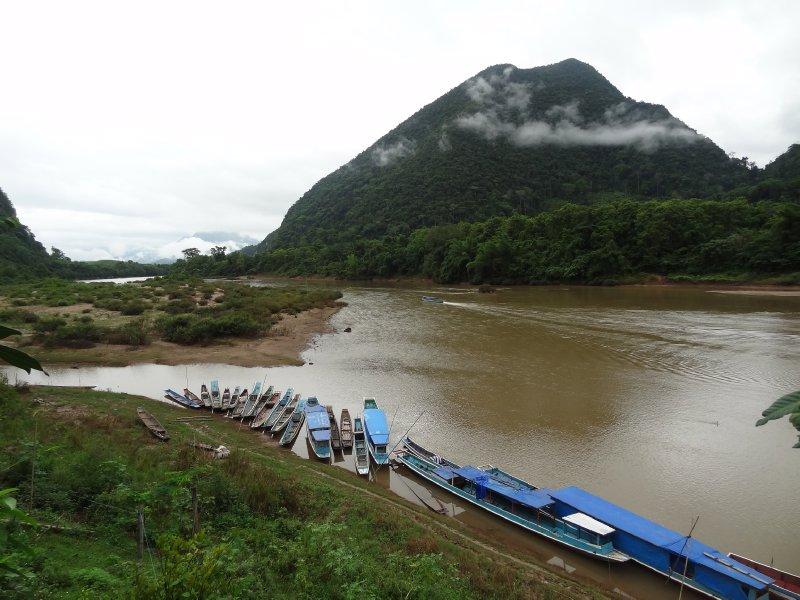 Vue sur la Nam Ou