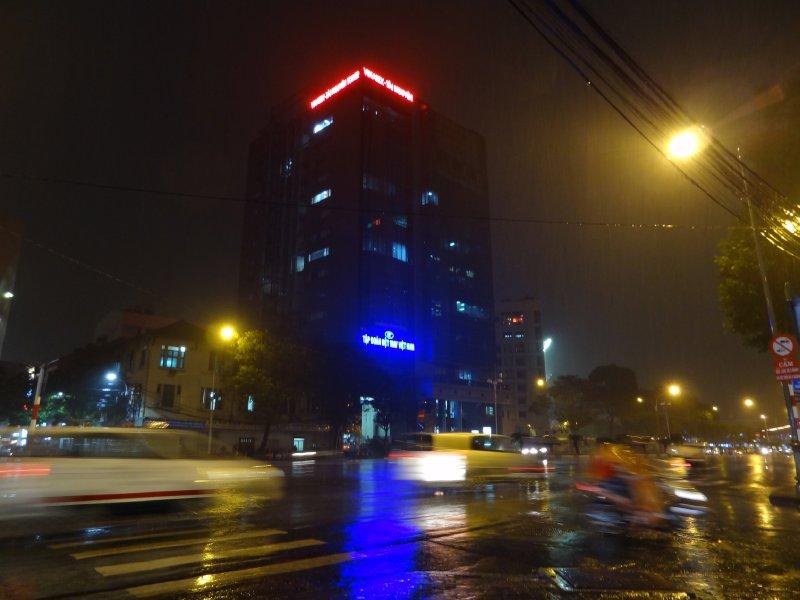 Pluie sur Ho Chi Minh