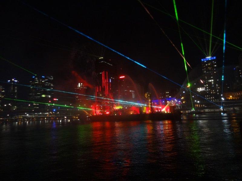 Festival de Brisbane - Show Laser