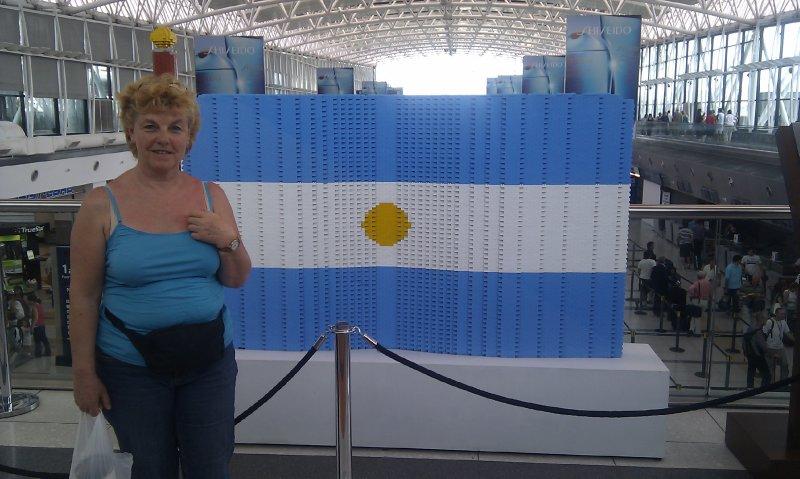 Dernière photo à l'aéroport