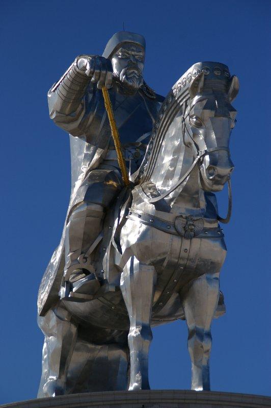 Genghis Khan - En Mongole :  Chintchis Han