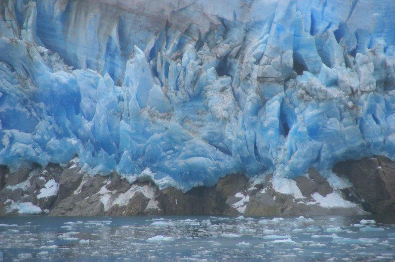 Glacier dans les Fjords Chiliens