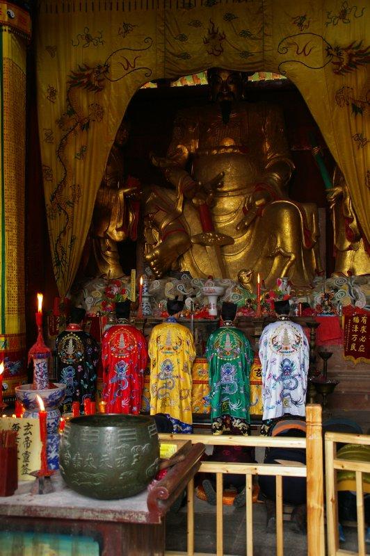 Cérémonie Taoïste au temple du village