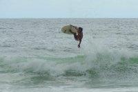 Surfeur - Plage de Trindade