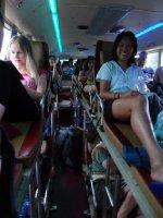 A bord des bus de nuit vietnamien