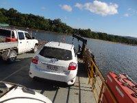 Sur le ferry de Cap Tribulation