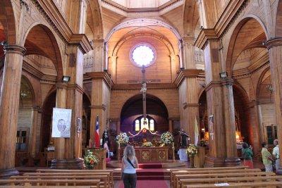Castro church inside