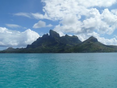 Bora Bora from the boat