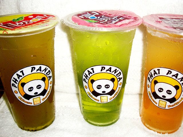 Fruit Teas, Calamansi, Green Pomegrenate, Mango