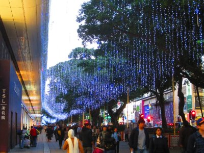 A billion strands of lights (well, perhaps a bit of exaggeration here)