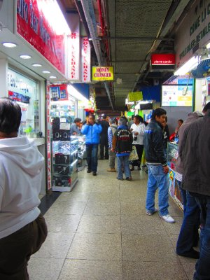 Inside the Chungking Mansions