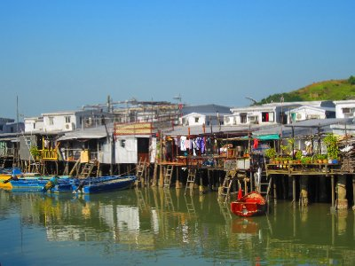 I loved this place.  Tai O, one of the many outlying islands surrounding HK.  What a discovery!