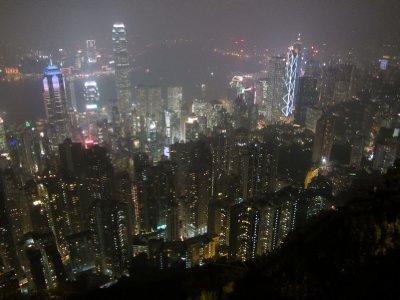 HK Skyline at night