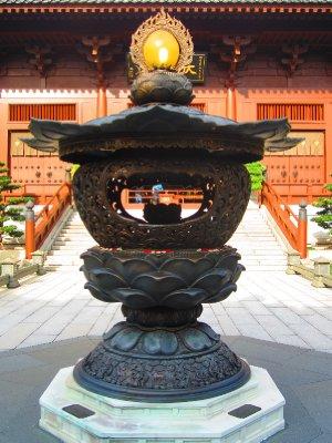 Lotus garden at Chi Lin Nunnery