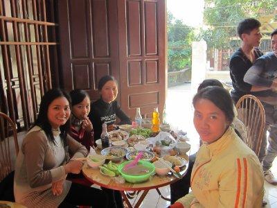 The ladies table
