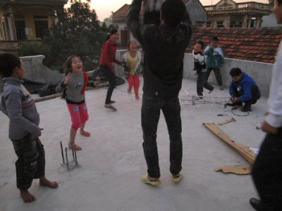 Playing on the Roof