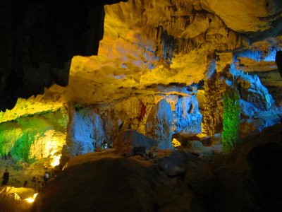 Magnificent cave chambers