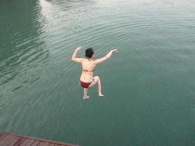 Mr. Chang jumps!