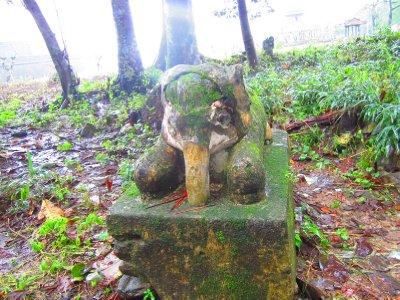Mini Elephant Statue