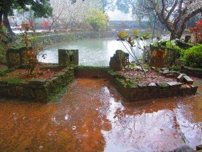Rainy Day At Tu Duc Tomb