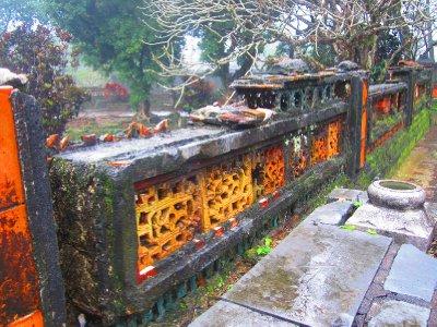 Run Down Walls At Tu Duc Tomb
