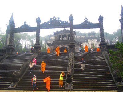 Monks Visiting The Tomb