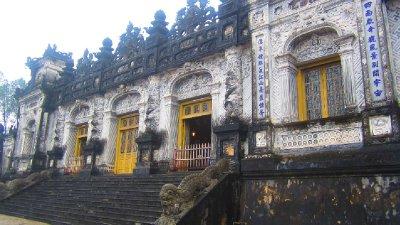 Khai Dinh Tomb Main Chamber