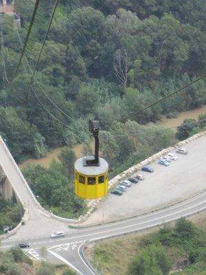 Arial Tram to Montserrat