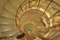 Spiral Staircase at Arc de Triomphe