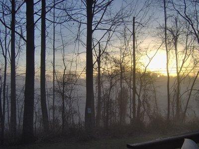 Sunset in my backyard, Harwood MD