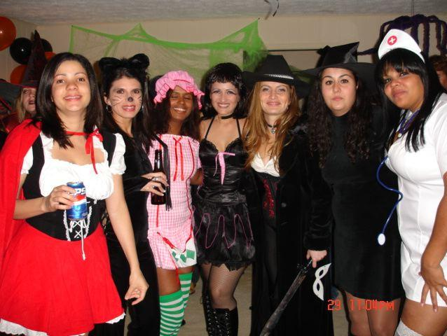 Halloween Party with the girls, Potomac MD