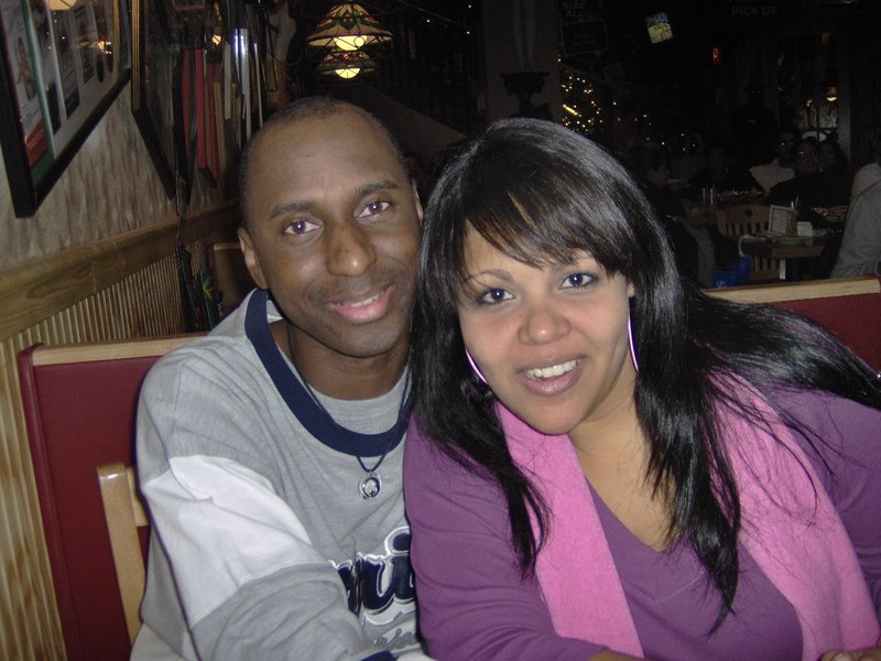 Mark & I @ Applebee's, Manhattan NY