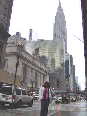 The Chrysler Building and I, Manhattan NY