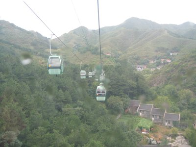 Scary cable car ride, loads of ventillation that seemed to indicate to Steve it was ok to fart! Phew!
