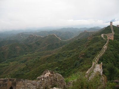 Breathtaking views of the Great Wall from the Great Wall