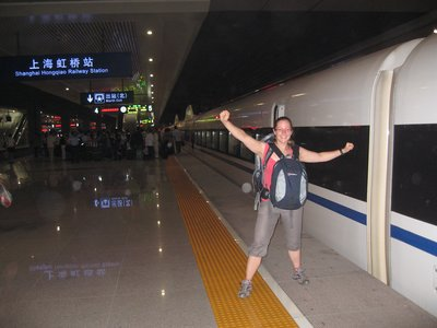 Whooooooosh! - the Beijing to Shanghai bullet train