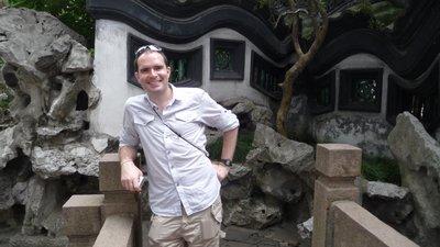 Yuyuan Garden with Monkey-Steve