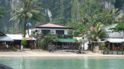 El Nido from the sea