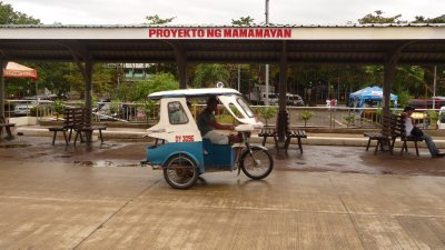 Tri-cycle in Palawan