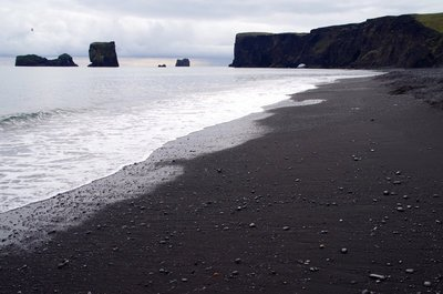 Black Beach at Dyrhólaey
