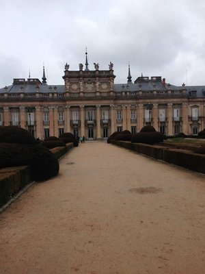 The Winter Palace in La Granja