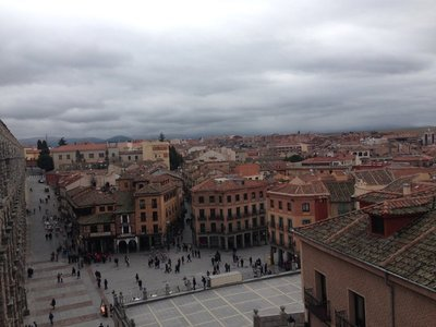 The View of Segovia from the Aqueduct